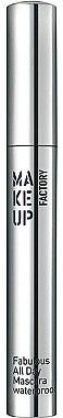 Wasserdichte Wimperntusche - Make Up Factory Fabulous All Day Mascara Waterproof — Bild N1