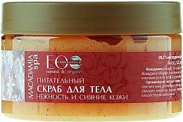 Düfte, Parfümerie und Kosmetik Pflegendes Körperpeeling mit Glyzerin und Macadamiabutter - ECO Laboratorie Macadamia Spa Nourishing Body Scrub