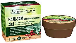 Düfte, Parfümerie und Kosmetik Aromatherapeutischer 4in1 Balsam gegen Kopfschmerzen, Migräne, Unwohlsein und Müdigkeit mit 16 Heilkräutern - ECO Laboratorie Herbal Therapy
