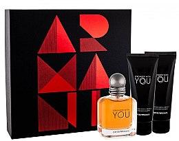 Düfte, Parfümerie und Kosmetik Giorgio Armani Emporio Armani Stronger With You - Duftset (Eau de Toilette + Duschgel 2x75ml)