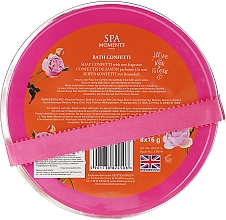 Seifenkonfetti mit Rosenduft 8 St. - Spa Moments Bath Confetti Rose — Bild N2