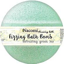 Düfte, Parfümerie und Kosmetik Sprudelnde Badebombe - Nacomi Green Tea Bath Bomb