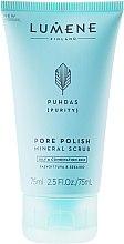 Düfte, Parfümerie und Kosmetik Gesichtspeeling zur Reinigung der Poren für fettige und Mischhaut - Lumene Puhdas