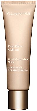 Mattierende und gleichmäßige Foundation - Clarins Teint Pores & Matite Pore Perfecting Matifying Foundation — Bild N1