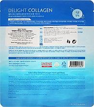 Intensiv feuchtigkeitsspendende Gesichtsmaske mit natürlichem Kollagen - Sally's Box Delight Collagen Hydrogel Mask — Bild N2