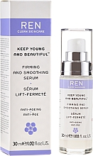 Düfte, Parfümerie und Kosmetik Straffendes und glättendes Anti-Aging Gesichtsserum - Ren Keep Young and Beautiful Smoothing Serum