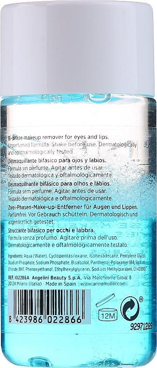2-Phasiger Make-up Entferner für Augen und Lippen - Anne Moller Waterproof Makeup Remover Eyes and Lips — Bild N2