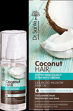 Feuchtigkeitsspendendes Haaröl mit Kokosnuss - Dr. Sante Coconut Hair — Bild N1