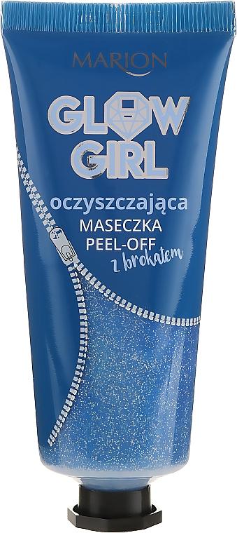 Reinigende Peel-Off-Maske mit Glitzer - Marion Glow Girl Peel-Off Cleansing Mask — Bild N1