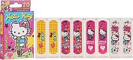 Düfte, Parfümerie und Kosmetik Wasserfeste Pflaster für Kinder 20 St. - VitalCare Hello Kitty Kids Plasters