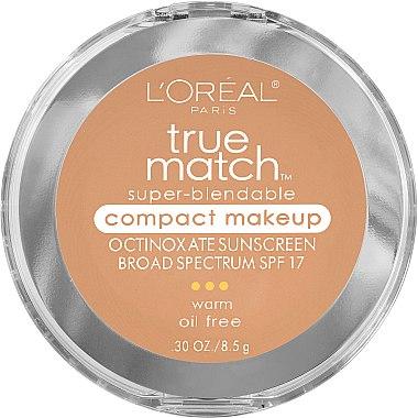 Gesichtspuder - L'Oreal Paris True Match Super-Blendable Compact Makeup SPF 17 — Bild N1
