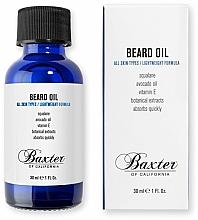 Düfte, Parfümerie und Kosmetik Bartöl mit Avocadoöl und Vitamin E - Baxter of California Grooming Beard Oil