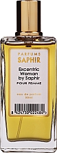 Düfte, Parfümerie und Kosmetik Saphir Parfums Excentric Woman - Eau de Parfum