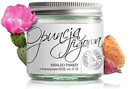 Düfte, Parfümerie und Kosmetik Gesichtscreme mit Kaktusfeigen, Coenzym Q10 und Vitamin C und E - E-Fiore Face Cream