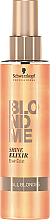 Düfte, Parfümerie und Kosmetik Leave-in Serum für alle Haartypen für mehr Glanz und Geschmeidigkeit - Schwarzkopf Professional Blondme Shine Elixir