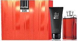 Düfte, Parfümerie und Kosmetik Alfred Dunhill Desire for a Men - Duftset (Eau de Toilette/100ml+Duschgel/90ml)