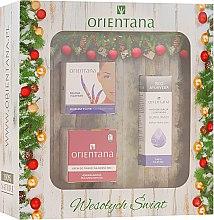 Düfte, Parfümerie und Kosmetik Gesichtspflegeset - Orientana (Creme/30g+Maske/50g+Creme/40g)