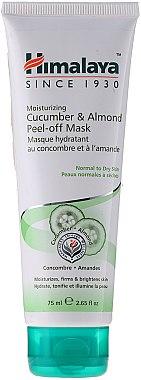 Feuchtigkeitsspendende Peel-Off Gesichtsmake mit Mandel und Gurke für normale bis trockene Haut - Himalaya Herbals — Bild N1