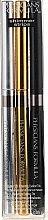 Eyeliner Trio mit eingebautem Spitzer - Physicians Formula Shimmer Strips Custom Eye Enhancing Eyeliner Trio Smokey Nude Eyes — Bild N1