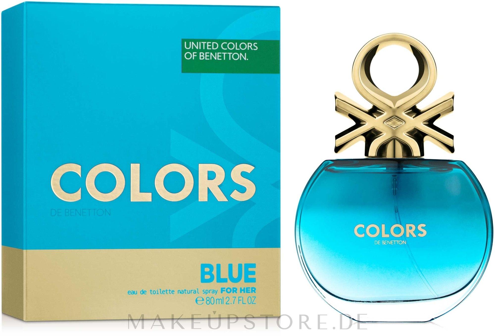 Benetton Colors de Benetton Blue - Eau de Toilette — Bild 80 ml