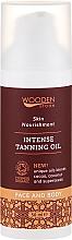 Düfte, Parfümerie und Kosmetik Intensives Bräunungsöl für Gesicht und Körper - Wooden Spoon Intense Tanning Oil