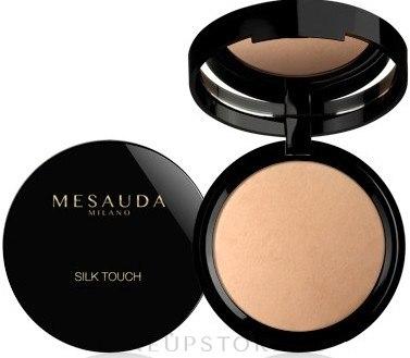 Gebackener Gesichtspuder - Mesauda Milano Silk Touch Powder — Bild 205 - Noisette