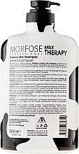 Shampoo mit Milchproteinen - Morfose Milk Therapy Hair Shampoo — Bild N2