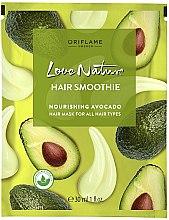 Düfte, Parfümerie und Kosmetik Nährende Haarmaske mit Avocado - Oriflame Love Nature Hair Smoothie