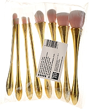 Düfte, Parfümerie und Kosmetik Professionelles Make-up Pinselset 8 St. - Tools For Beauty