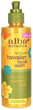 Hypoallergener Gesichtsreiniger mit Kokosmilch - Alba Botanica Natural Hawaiian Facial Wash Deep Cleansing Coconut Milk — Bild N1