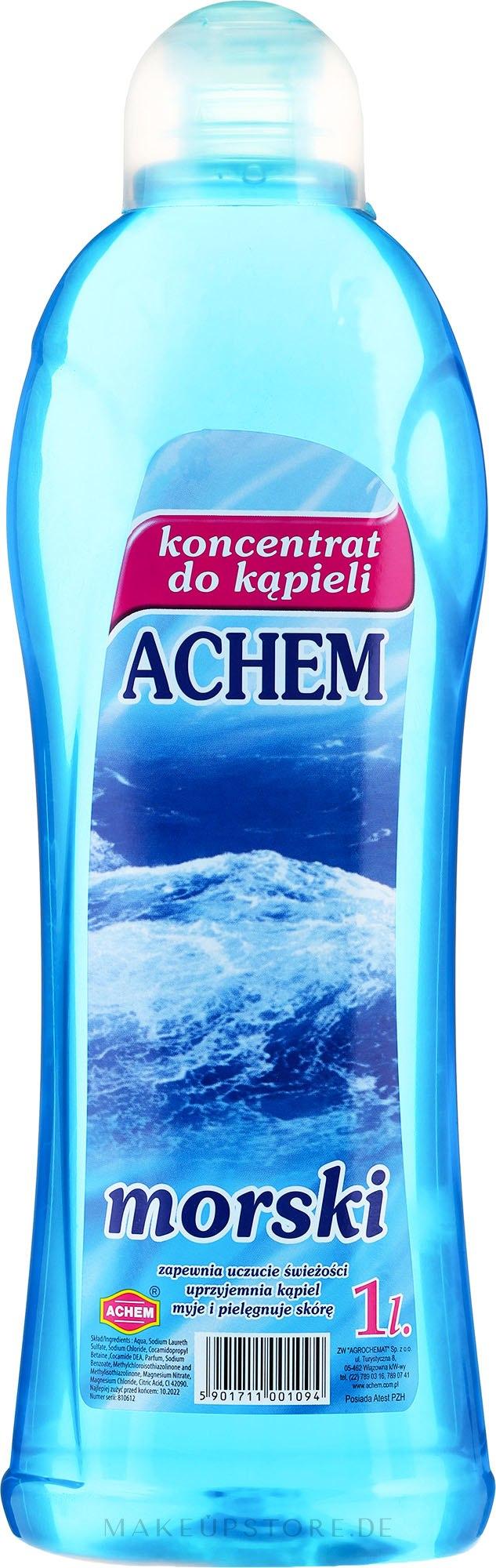 Badekonzentrat Meer - Achem Concentrated Bubble Bath Sea — Bild 1000 ml