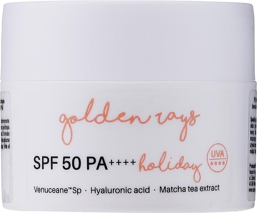 Sonnenschutzcreme für das Gesicht SPF 50 - Nacomi Next Level Holiday SPF 50 PA++++ — Bild N2