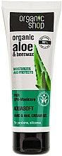 Düfte, Parfümerie und Kosmetik Handcreme-gel mit Aloe vera & Bienenwachs - Organic Shop Hand Cream Aquasoft Aloe & Beeswax