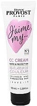 Düfte, Parfümerie und Kosmetik Farbschützende CC-Haarcreme - Franck Provost Paris Jaime My Hair CC Cream