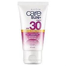 Düfte, Parfümerie und Kosmetik Feuchtigkeitsspendende Sonnenschutzcreme für das Gesicht SPF 30 - Avon Care Sun+ Shine Control Sun Cream SPF 30