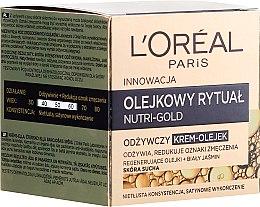 Düfte, Parfümerie und Kosmetik Nährendes Creme-Öl für trockene Haut - L'Oreal Paris Nutri Gold Cream-Oil