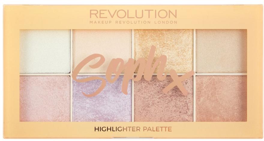 Highlighter-Palette - Makeup Revolution Soph Highlighter Palette — Bild N1
