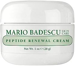 Düfte, Parfümerie und Kosmetik Anti-Falten Gesichtscreme mit Peptiden - Mario Badescu Peptide Renewal Cream