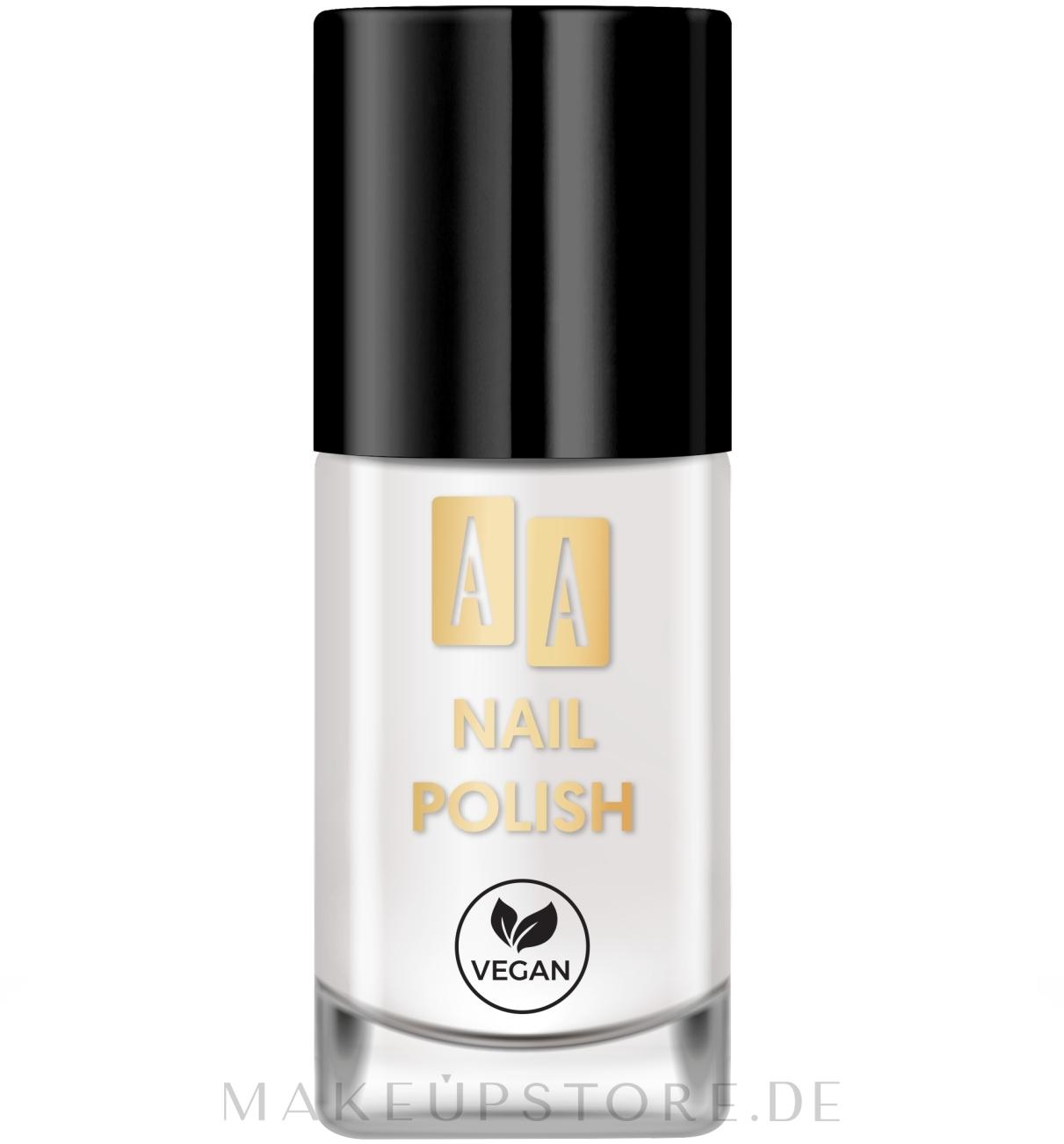 Nagellack - AA Nail Polish — Bild 01 - White Bean