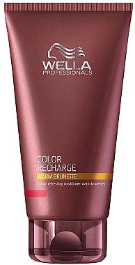 Farbauffrischender Conditioner für warme Brauntöne - Wella Professionals Color Recharge Warm Brunette — Bild N1