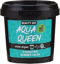 Düfte, Parfümerie und Kosmetik Feuchtigkeitsspendende Gesichtsmaske mit Algenextrakt - Beauty Jar Face Care Aqua Queen Rubber Mask