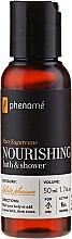 Haarpflegeset - Phenome Sustainable Science (Shampoo 50ml + Creme 10ml + Maske 10ml + Peelingpaste 10ml + Duschgel 50ml) — Bild N4