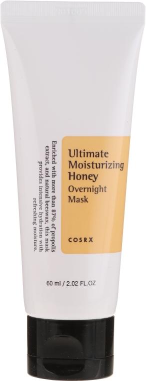 Feuchtigkeitsspendende Nachtmaske für das Gesicht mit Honig - Cosrx Ultimate Moisturizing Honey Onvernight Mask — Bild N2