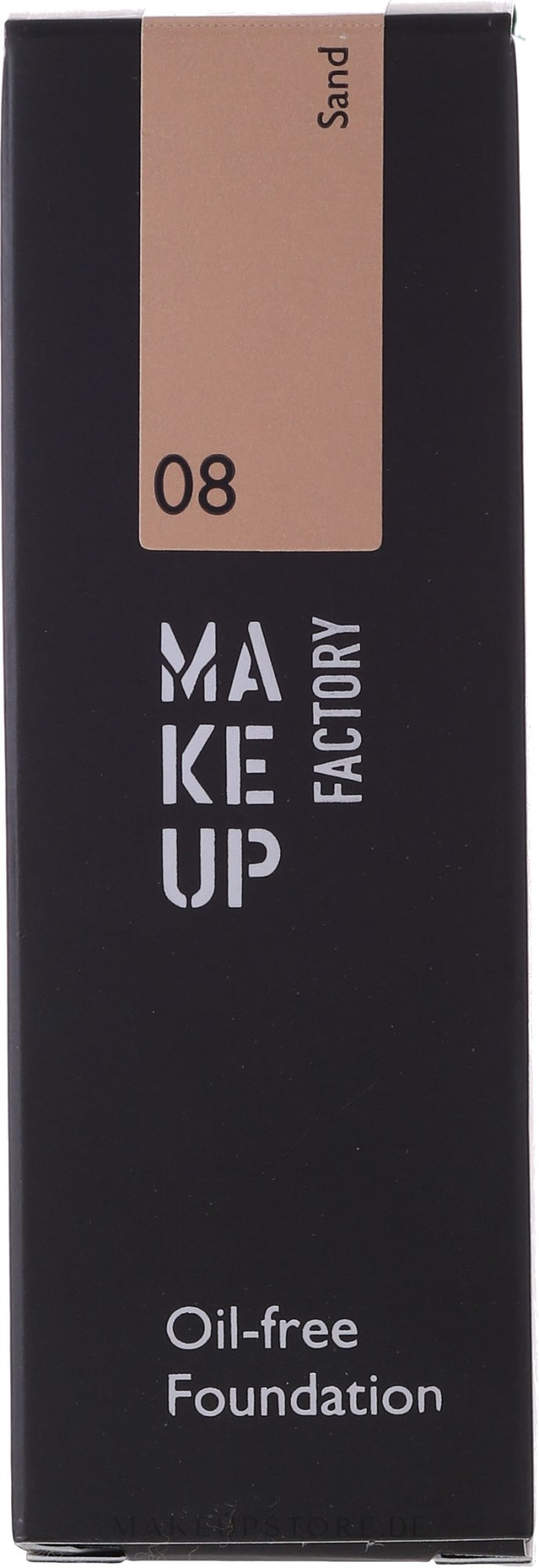 Mattierende ölfreie Foundation - Make Up Factory Oil Free Foundation — Bild 08 - Sand
