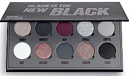 Düfte, Parfümerie und Kosmetik Lidschattenpalette - Makeup Obsession Black Is The New Black