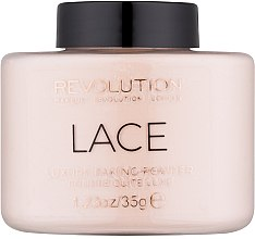 Düfte, Parfümerie und Kosmetik Loser Puder mit seidigem Finish - Makeup Revolution Lace Baking Powder