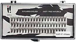 Düfte, Parfümerie und Kosmetik Wimpernbüschel - Ibra 20 Flares Eyelash Knot Free Naturals C 0,07 10MM