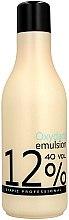 Düfte, Parfümerie und Kosmetik Wasserstoffperoxid mit cremiger Konsistenz 12% - Stapiz Professional Oxydant Emulsion 40 Vol