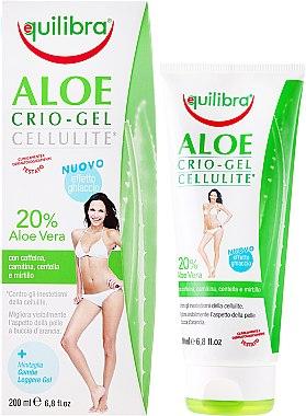 Anti-Cellulite Körperpergel mit Aloe - Equilibra Special Body Care Line Aloe Crio-Gel Cellulite — Bild N1