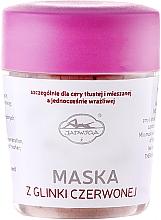 Düfte, Parfümerie und Kosmetik Gesichtsmaske mit rotem Ton - Jadwiga Face Mask